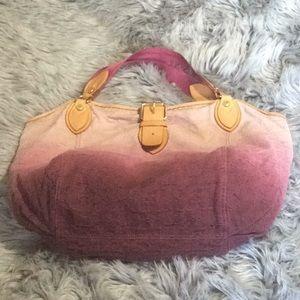 Authentic Louis Vuitton Sunbeam denim bag